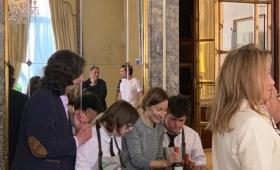 Teatro contra la violencia de género en la Embajada Argentina en España