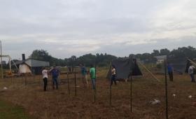 Usurparon terrenos en Bº Nuevo Garupá