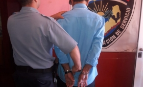 Amenazó de muerte a su padre y terminó detenido