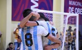 Mundial de Futsal: Argentina goleó a Francia y jugará contra Paraguay