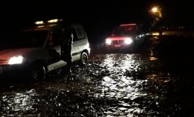 Familias afectadas por las lluvias en Wanda y el norte de Misiones