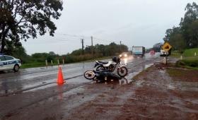 Dos motociclistas en grave estado tras colisión en San José