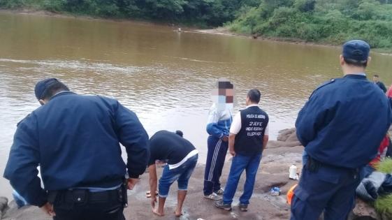 Hallaron el cuerpo de Julio Yung en el río Paraná