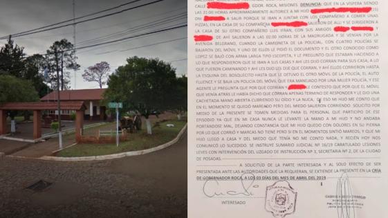 Denuncian apremios ilegales contra adolescentes en Roca