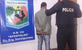 Apóstoles: joven detenido por abuso sexual agravado
