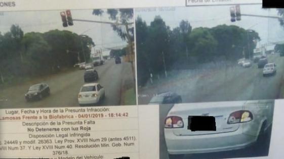 Suspendieron fotomultas sobre la Avenida Llamosas