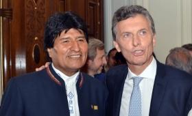 Macri recibe a Evo Morales este lunes en Casa Rosada
