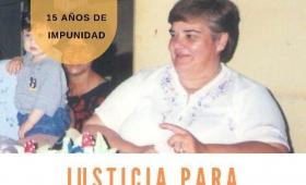 Reclaman justicia a 15 años del crimen de Marilyn Bárbaro