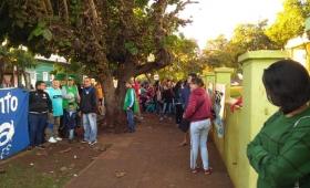Apóstoles: protesta en defensa del Hospital Público