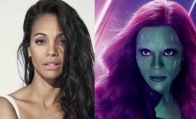Quién es Zoe Saldaña, la actriz de Avengers que se hizo viral con un mate