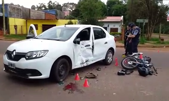 Varios heridos en un choque en avenida Urquiza