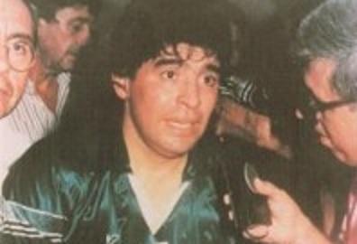 Maradona recordó un gol que hizo en cancha de Guaraní