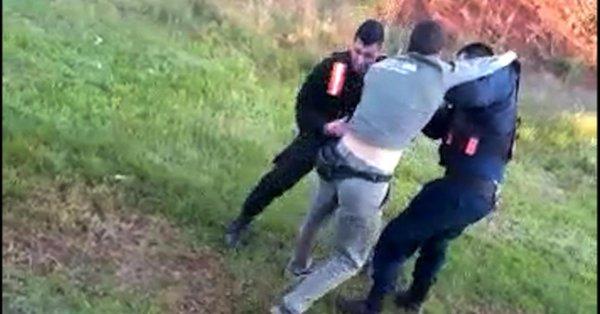 A piñas se resistió al arresto