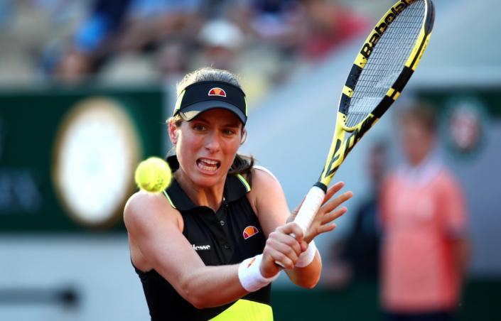 La británica Konta sorpresiva semifinalista en Roland Garros