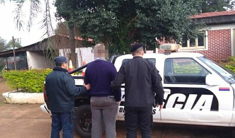 Violento detenido en Campo Viera