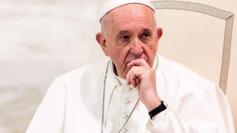 """Francisco pidió el fin del """"sufrimiento de la gente"""" en Venezuela"""