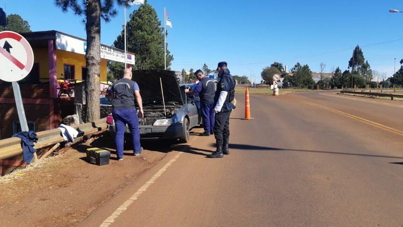 Detenido por circular en un auto con pedido de secuestro