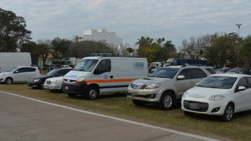 Secuestran ambulancias acondicionadas para transportar drogas