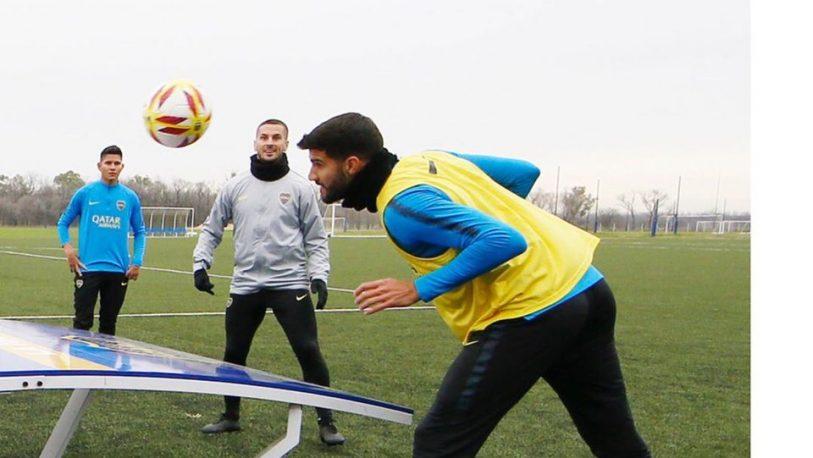 Villa se entrenó en forma normal y Alfaro confirmaría mañana el equipo para jugar en Brasil