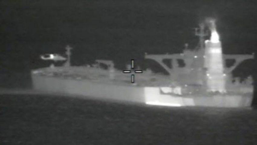 Gibraltar detiene un superpetrolero que llevaba crudo a Siria