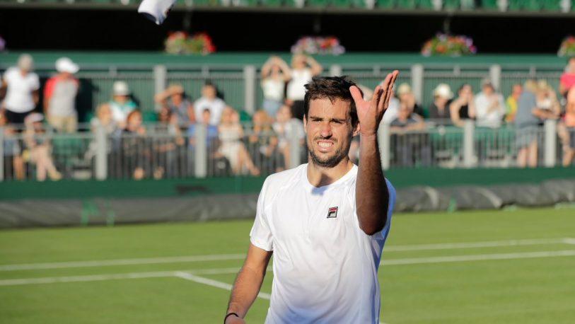 Wimbledon: Pella enfrentará a Raonic este lunes