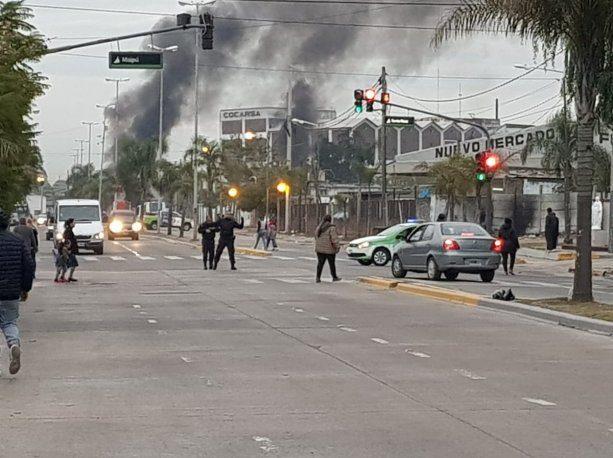 Dos heridos de bala en un enfrentamiento entre gremialistas