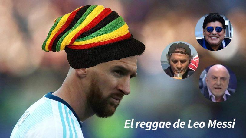 """Llegó el """"reggae de Messi"""""""