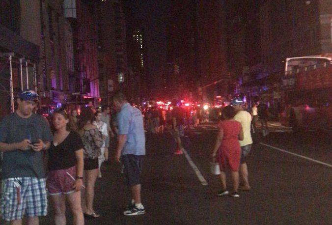 Un apagón dejó sin suministro eléctrico a Nueva York