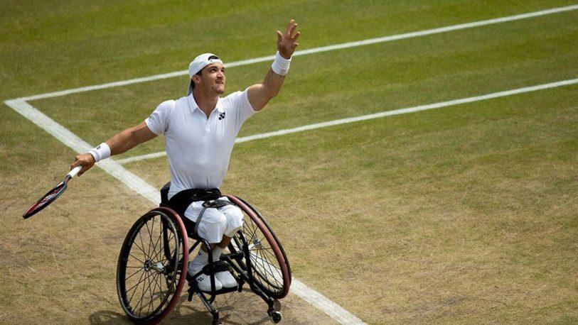 """""""Lobito"""" Fernández campeón en Wimbledon"""