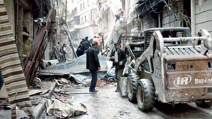Siria: más de 100 civiles muertos por bombardeos