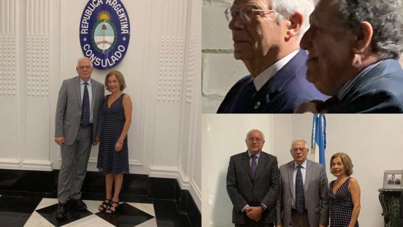 El Ministro de Asuntos Exteriores de España, visitó la Embajada