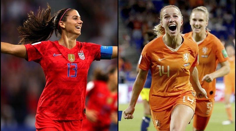 Mundial de fútbol femenino: Estados Unidos y Holanda jugarán la final