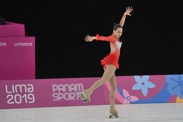 Giselle Soler ganó la medalla de plata en patinaje artístico