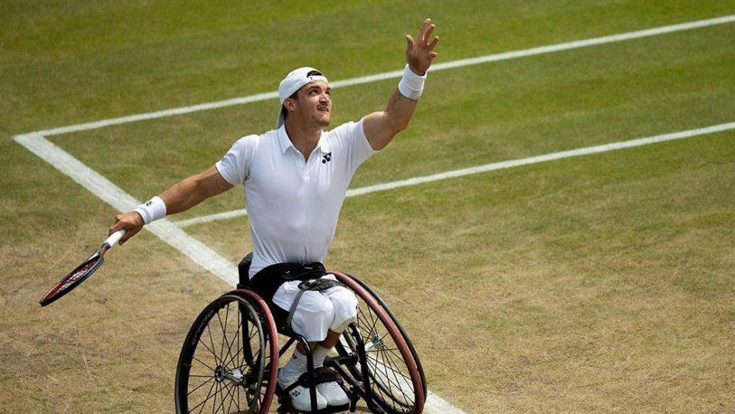 """El """"Lobito"""" Fernández avanzó a la final de Wimbledon"""