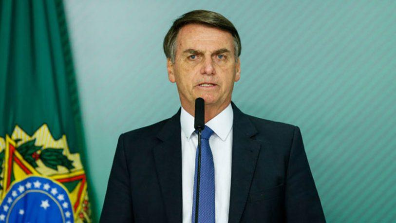 Bolsonaro se internó para someterse a una cuarta cirugía