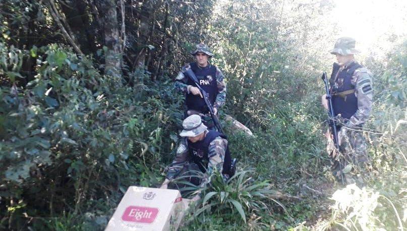 Secuestraron 800 cartones de cigarrillos de contrabando