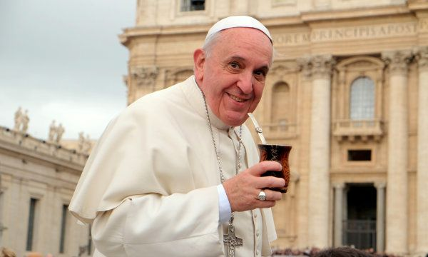 """Francisco: """"Me gustaría visitar la Argentina el año próximo"""""""