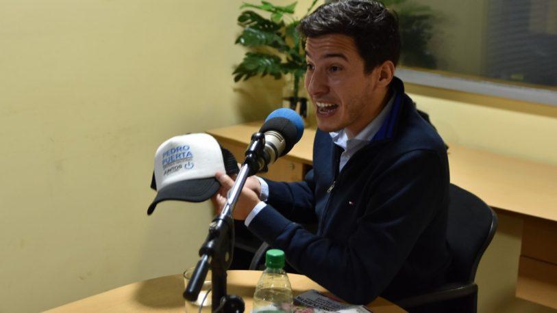 """Pedro Puerta: """"Hay una dirigencia que ya fue"""""""