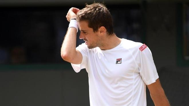 Wimbledon: el sueño de  Pella terminó en los cuartos de final