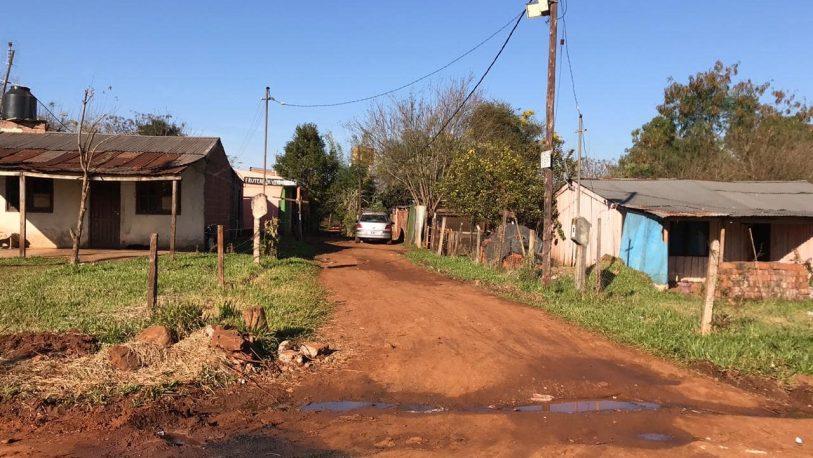 Barrio Belén: sin agua, alumbrado público y mucha inseguridad