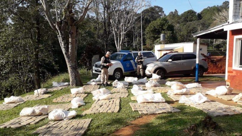 Secuestraron cargamento de casi 700 kilos de marihuana