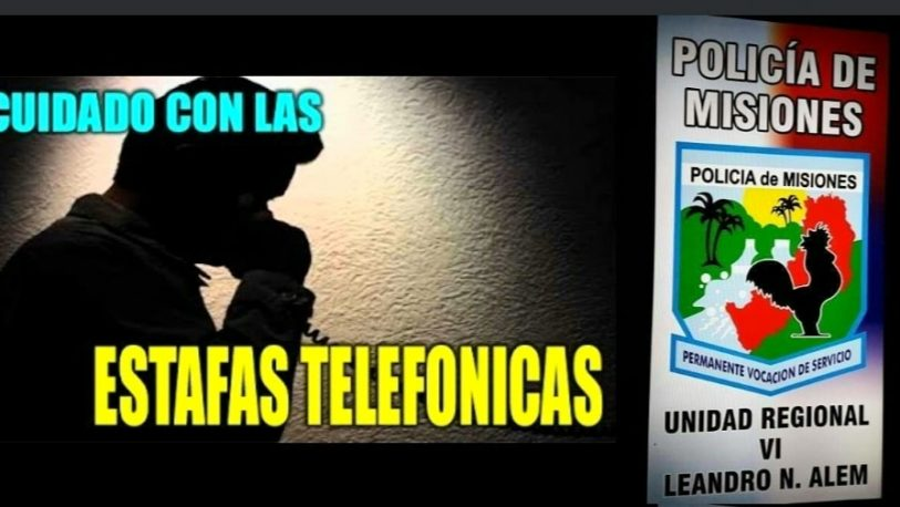 Alerta por estafas telefónicas a personas mayores