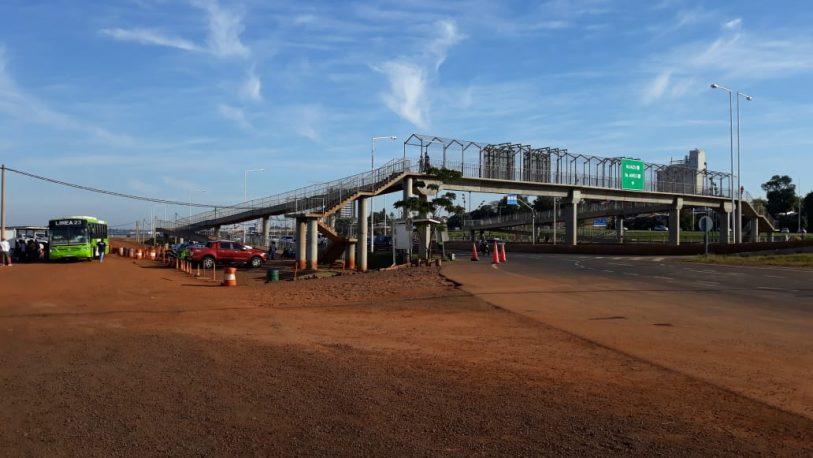 Se levantó el piquete en el acceso al puente internacional