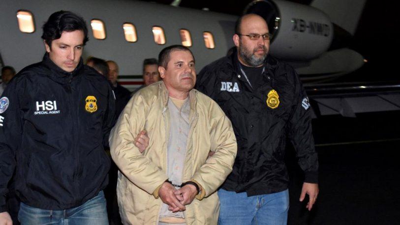 """Condena perpetua para """"El Chapo"""" Guzmán en EEUU"""