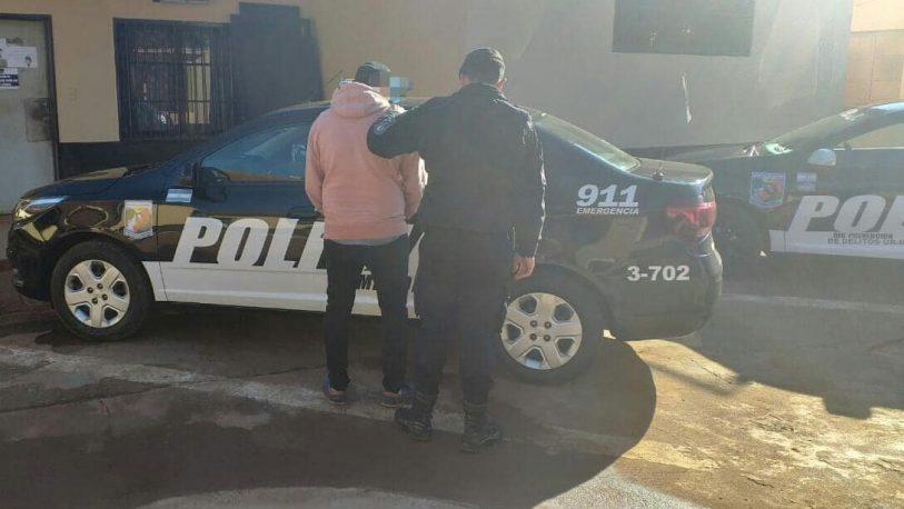 Joven detenido acusado de agredir a su pareja