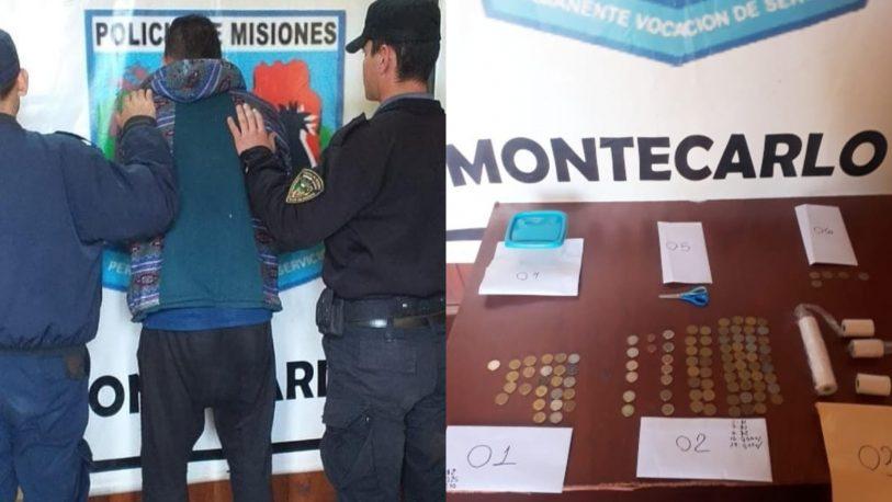 Eldorado: dos hombres detenidos tras un raid delictivo en Montecarlo