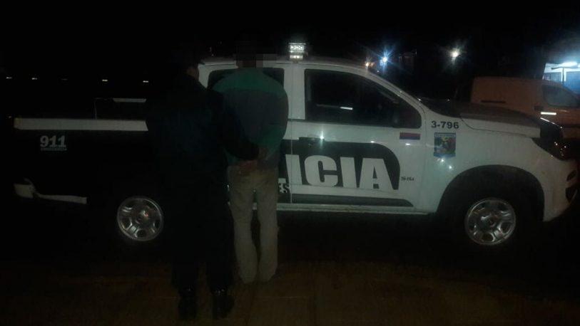 Ocasionó disturbios en un comercio y fue detenido