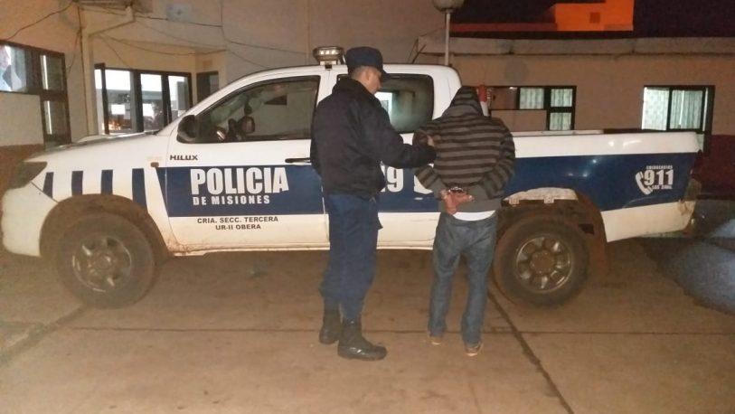 #VdG: detienen a sujeto acusado de agredir a su pareja