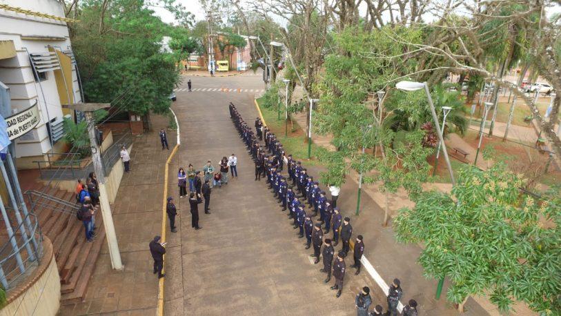 Operativos policiales reforzados por la llegada de turistas