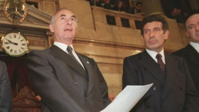Murió el ex presidente De la Rúa